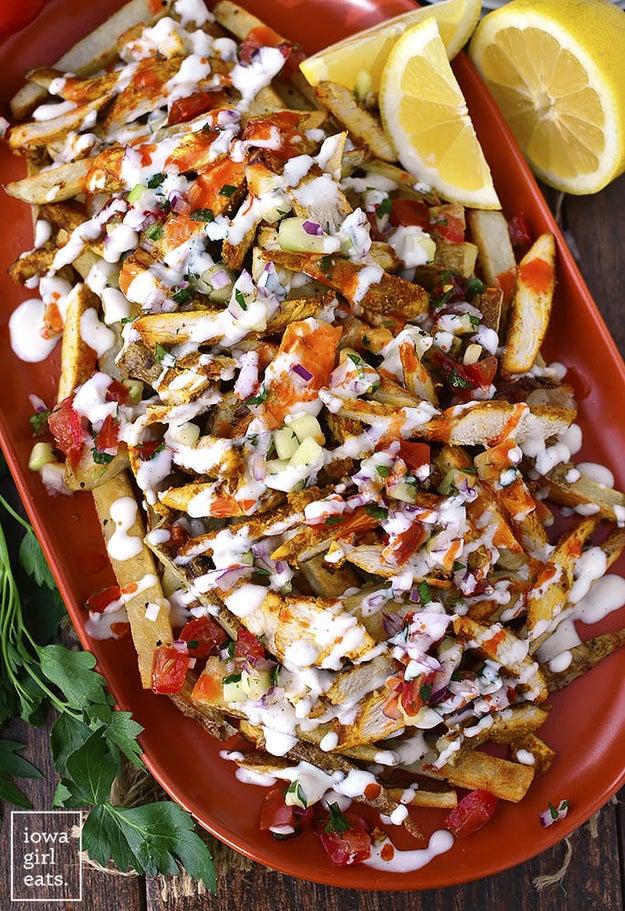 Chicken Shawarma Fries