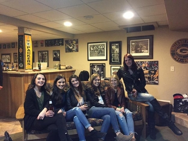 A few days ago, Reddit user jr0d7771 posted this photo of a group of women posing in a place that is obviously–pro Green Bay Packers.