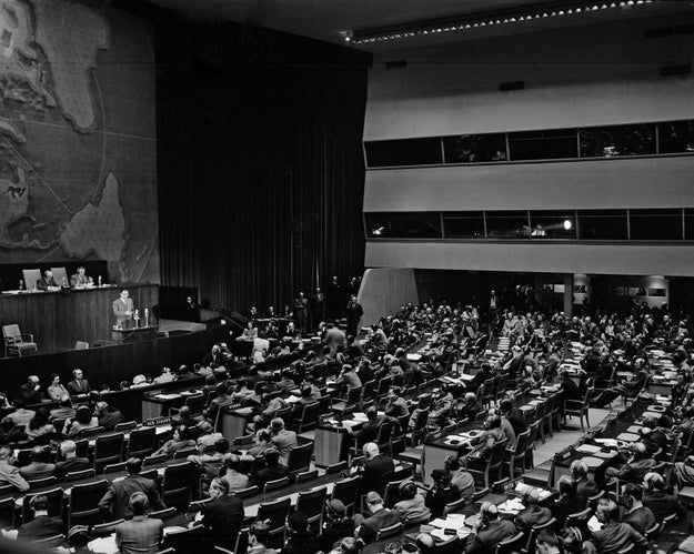 But we will start with a look at the history between the United Nations and Israel, one that goes back to the country's founding.