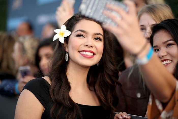 Auli'i Cravalho is the voice behind Disney's sublime Moana, but — more importantly —the Hawaii native supplies the movie with a grounded confidence, a gorgeously zealous range, and the big, beating heart that fuels every turn of Moana's boat. And considering this is the 16-year-old's film debut, there's no telling how far she'll go in the years to come.