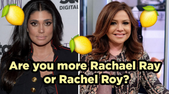 Are You More Rachael Ray Or Rachel Roy?