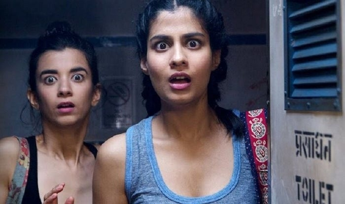 "Ever wonder what happens when a group of women flock to the bathroom together? ""Ladies Room"" takes viewers into the lives of two best friends, Dingo (Saba Azad) and Khanna (Shreya Dhanwanthary), as they rant, smoke, and deal with drama throughout six different bathrooms. The Indian web series applies the often male-dominated raunchy humor to women and proves that bathroom humor shouldn't be limited to one gender. Season 1 is now available on YouTube."
