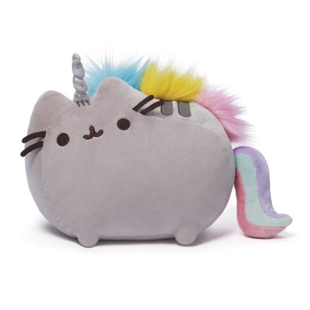 A unicorn plushie of everyone's favorite cartoon cat.