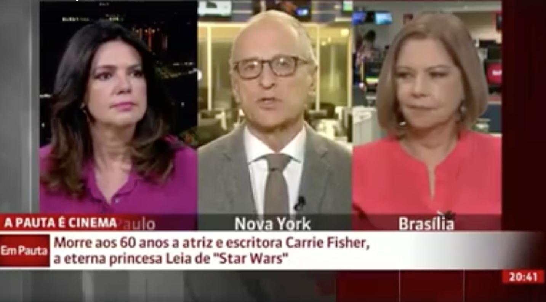 Ele comentou que as pessoas estavam muito tocadas com a perda da eterna Princesa Leia, mas que a reação mais emocionante foi a do Chewbacca, também personagem da saga.
