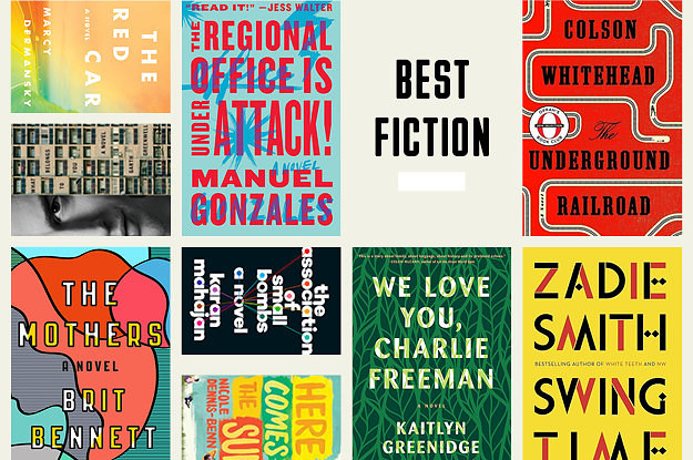 The 24 Best Fiction Books Of 2016