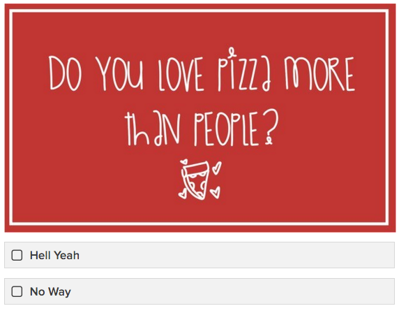 Can We Guess Your Relationship Status Based On Your Pizza Preferences?