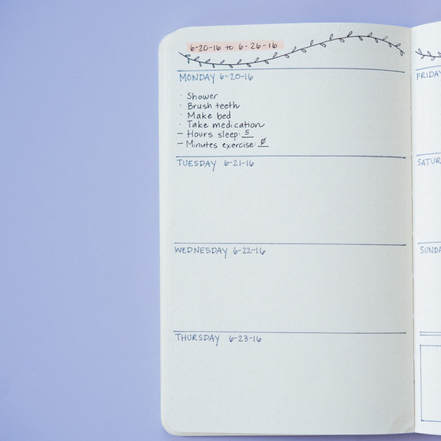 Write down a to-do list for the next day to help reassure yourself that you won't forget anything you need to do.