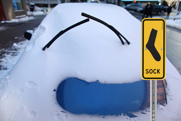 If the cold is just too darn much for your car to handle, you can use a few household items to get out of a bind.