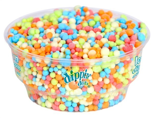 90 servings of Dippin' Dots.