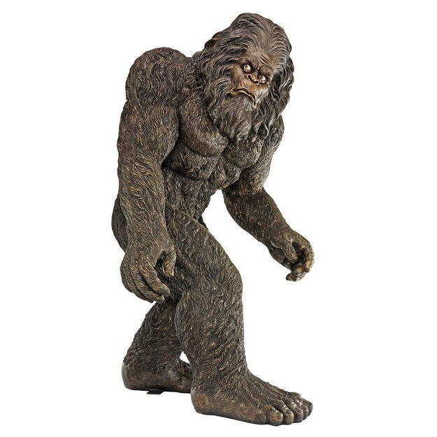 And a life-sized Bigfoot statue that's a six-foot-tall, 147lb. reminder of how you choose to spend your money.