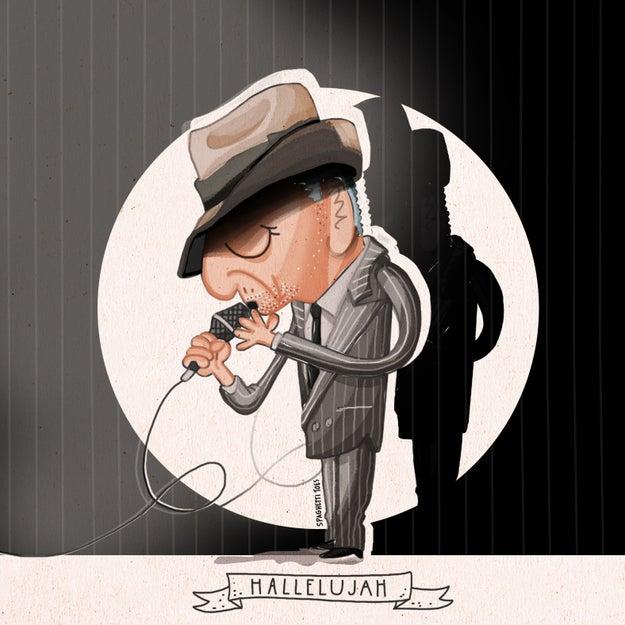 ...Leonard Cohen, a true Renaissance man...