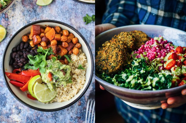 12 Delicious Vegetarian Bowls To Eat In 2017