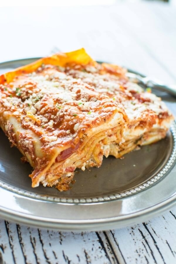 3-Ingredient Slow Cooker Lasagna