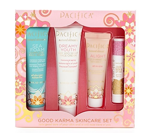 An all-natural skincare set from Pacifica.