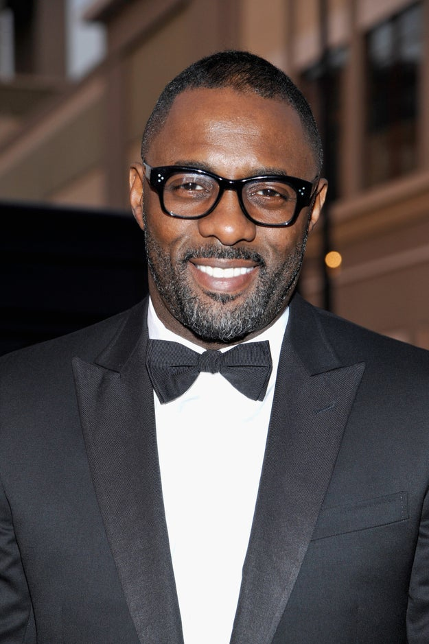 So you might be having a bad day. But you know what's going to make it better? Idris Elba giving you a smile.