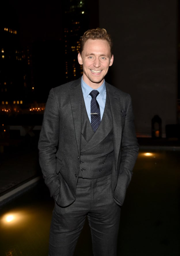 Tom Hiddleston can't keep his excitement to himself, so you shouldn't either.