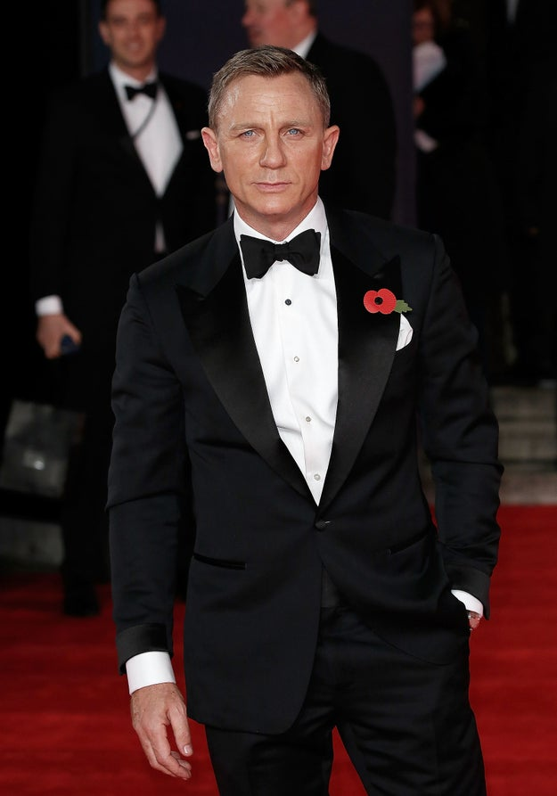 While Daniel Craig might be trying to kill you with the most well-fitting suit in the history of the world.