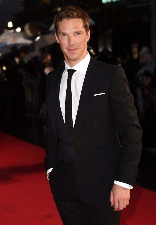 Or how about Benedict Cumberbatch giving you the smirks to end all smirks?