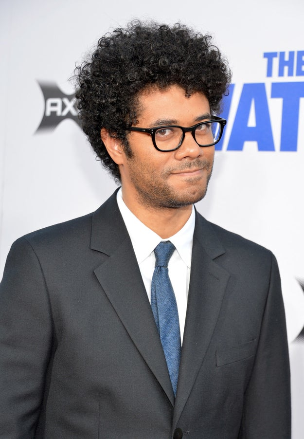 And look at Richard Ayoade's face, like you two have some awesome inside joke.