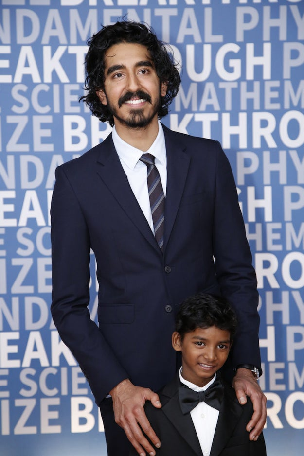 And Dev Patel shows that a man is hot clean shaven or scruffy.