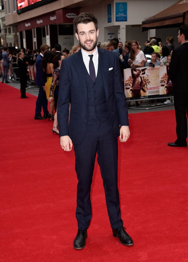 Jack Whitehall knows that a good suit is no laughing matter.