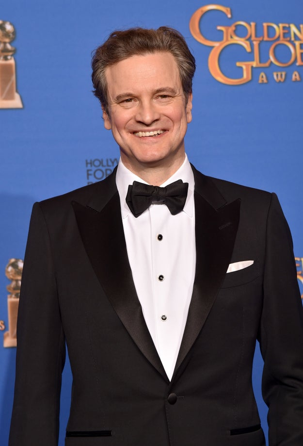 And Colin Firth. Goddamn you Colin Firth for being so perfect.