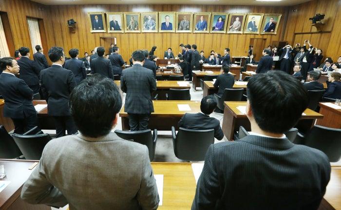 カジノ法案を賛成多数で可決した衆院内閣委員会