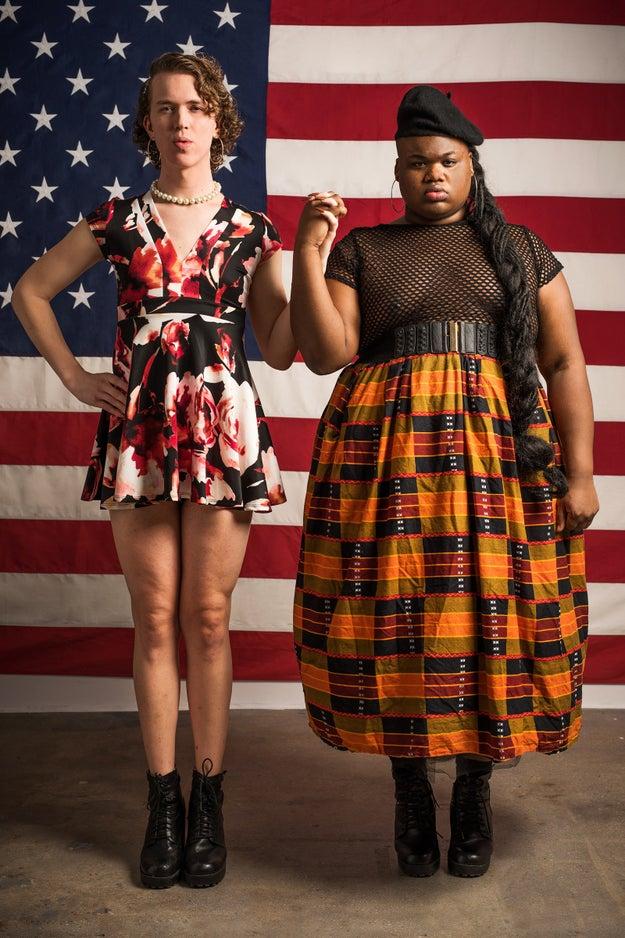 Corey Kempster, Trans Femme Advocate, Writer, and Community Builder, and Jarrid Jones,  Black Trans-Femme Artist and Fat-Positive Advocate