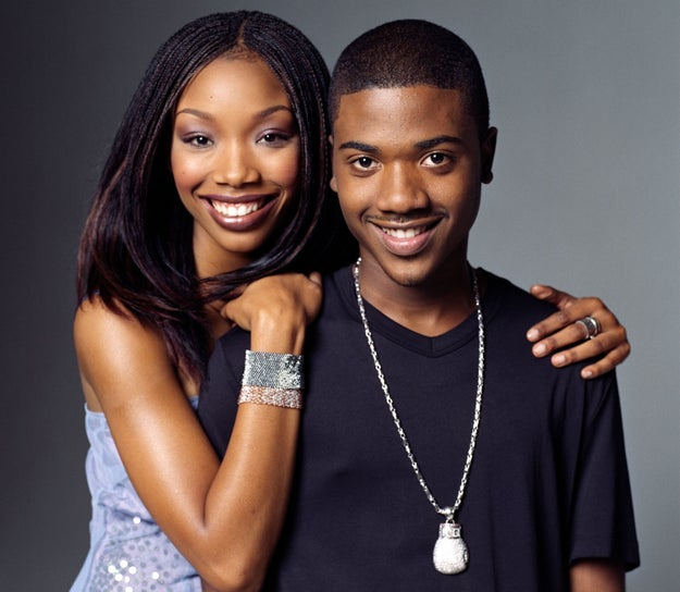 Moesha premiered, starring Brandy and her little brother Ray J — in his pre-Kim Kardashian days.