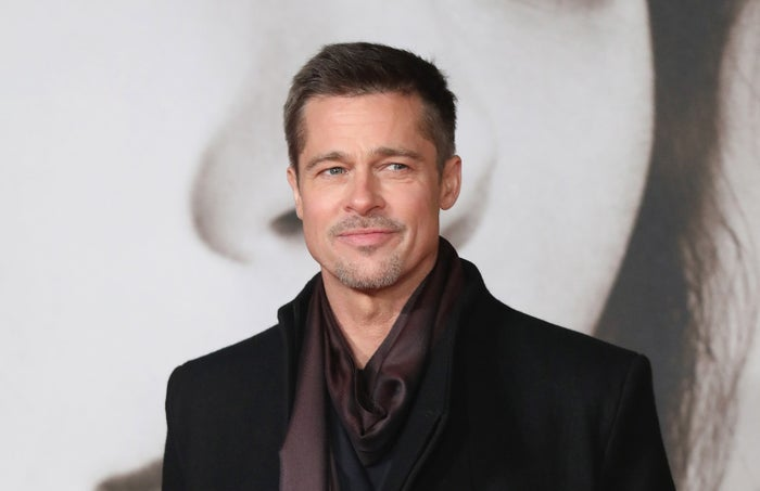 Brad Pitt attends the UK Premiere of Allied.