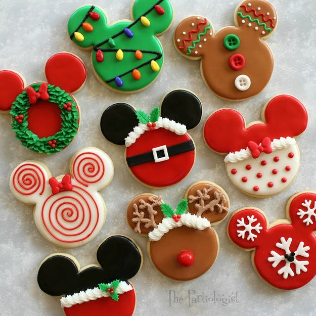 Disney-Themed Christmas Cookies