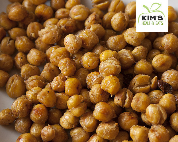 Make roasted chickpeas for a hearty mid-morning snack that'll actually hold you till lunch.