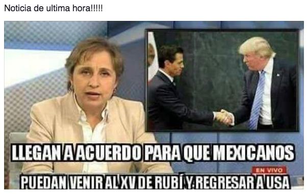 El padre de Rubí subió un video-invitación a Facebook, pero olvidó ponerlo privado y rápidamente Internet hizo de la suyas.