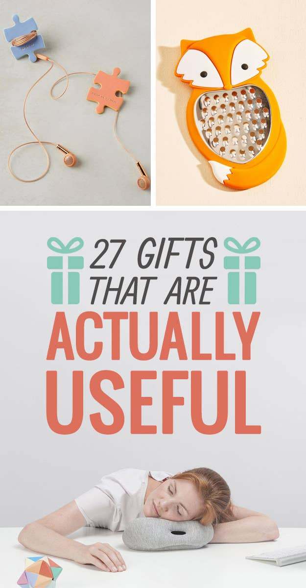27 Amazing Gifts That Are Actually Useful