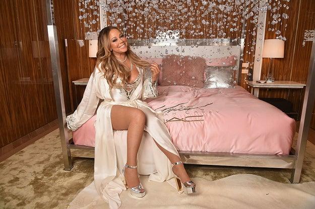 Mariah Carey es una DIVA. Tal vez no es vedette, ni bai-la-ri-na, pero es legendaria.