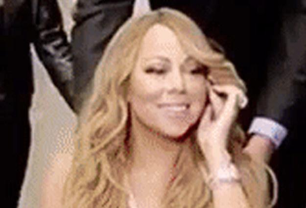 Si fueras rica, exitosa y mágica como Mariah también tendrías esta cara de felicidad. Serías Don Vergas de la vida real.
