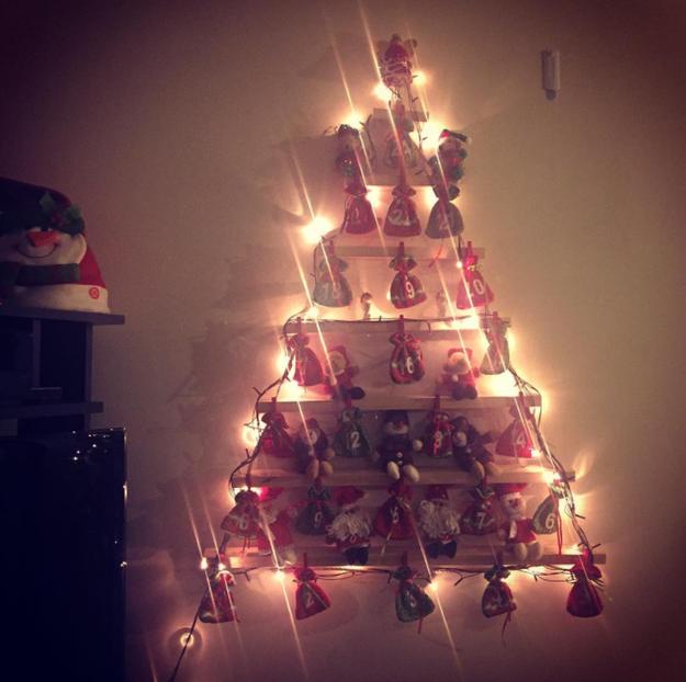 De enero a noviembre, repisas; en diciembre, es el centro de tu Navidad.