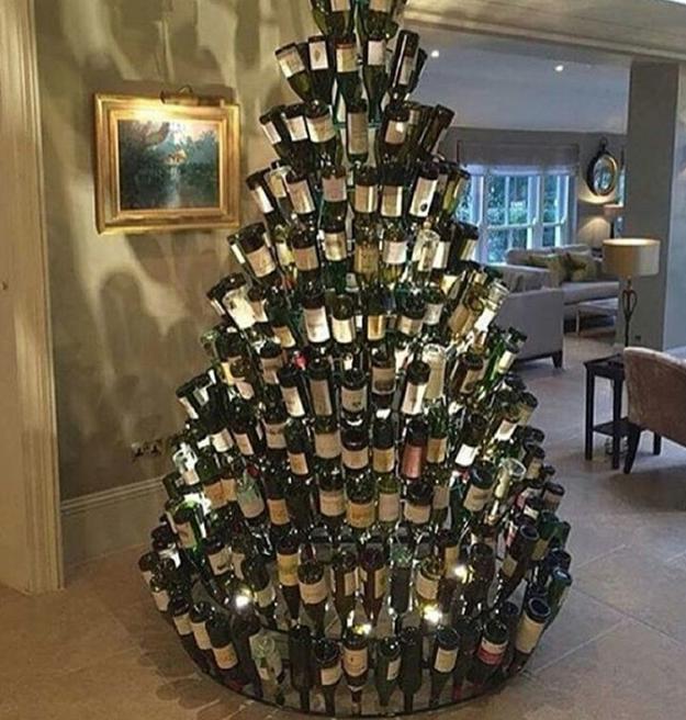 También hay para los amantes del vino.