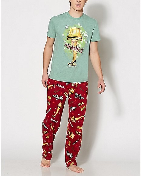 a24eccb7d5 A Christmas Story pajama set that is way less embarrassing than a leg lamp  in your window.