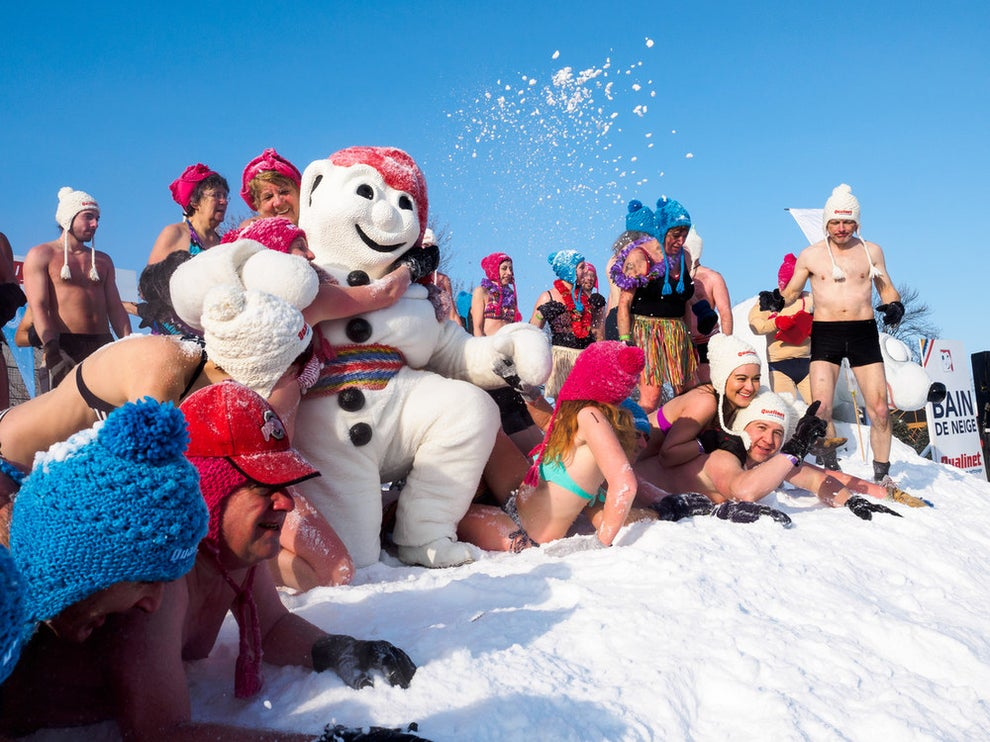 Hit up Carnaval de Québec.