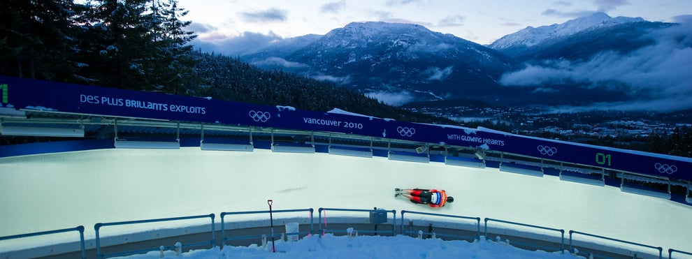 Hit up the Sliding Centre in Whistler for chilly thrills.