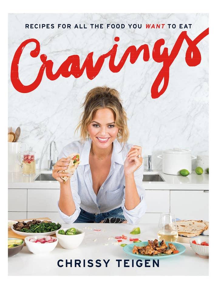 23 cookbooks food lovers actually want for christmas 20 cravings by chrissy teigen forumfinder Gallery