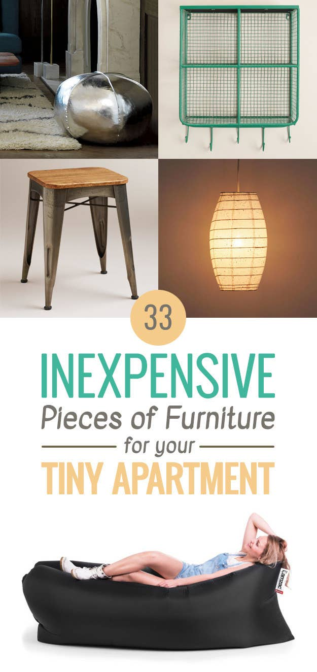 33 Inexpensive Pieces Of Furniture For Your Tiny Apartment