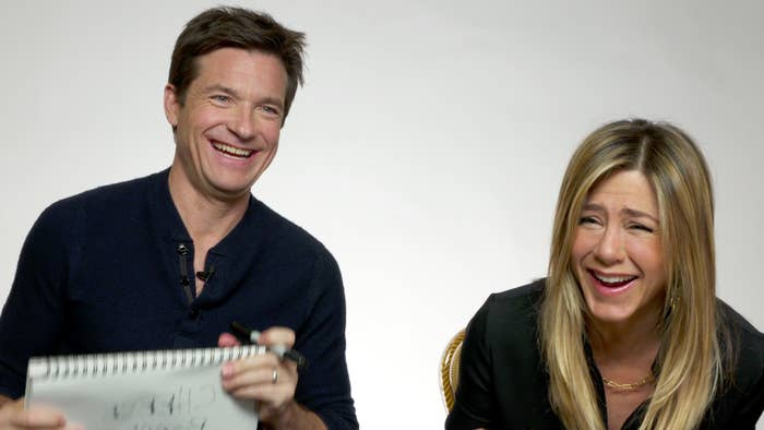 Jennifer Aniston and Jason Bateman star in the new film Office Christmas Party, a comedy showcasing all the things you should probably never do at an office holiday party (which, for most of you, is probably happening right about now. So take this movie as your warning.)Since the duo have been friends for over two decades, we decided to put them to the test to see how well they actually know each other with our BuzzFeed BFF test. Here's how they did.