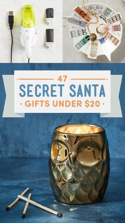 47 secret santa gifts under 20 that don 39 t suck. Black Bedroom Furniture Sets. Home Design Ideas
