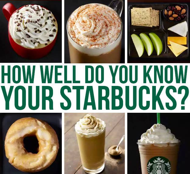 Heads up: Unless otherwise specified, calories and sugar are based on grande-size drinks made with 2% milk.