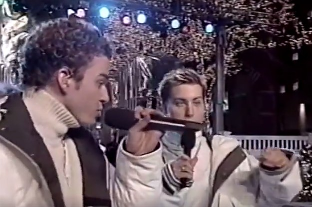 "This Video Of NSYNC Performing ""Merry Christmas, Happy Holidays"" In 1999 Is Nostalgic AF"