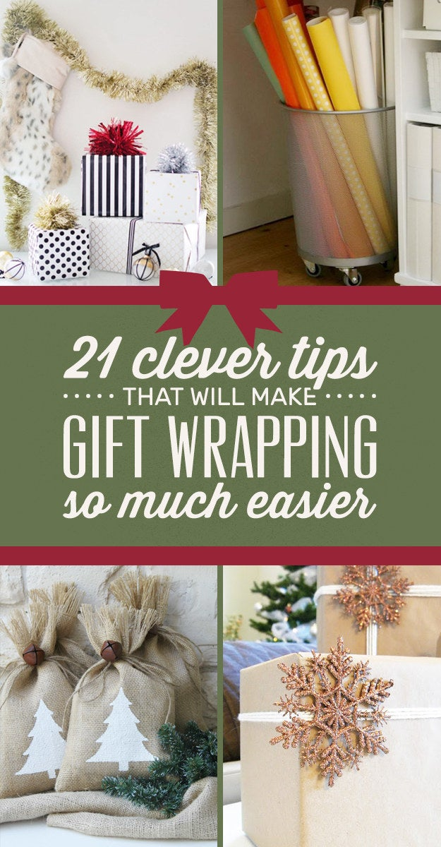 21 Clever Tips For Anyone Wrapping Presents This Year