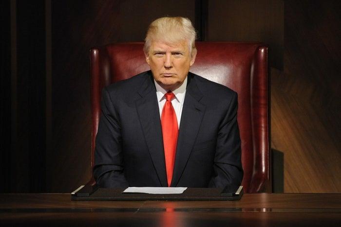 Donald Trump on The Celebrity Apprentice.