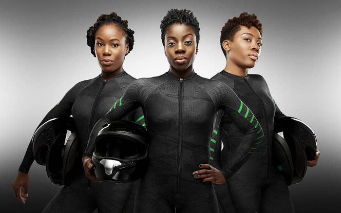Driver Seun Adigun and brakewomen Ngozi Onwumere and Akuoma Omeoga aren't particularly well-versed yet in the noble sport of bobsledding. But they're hella determined to make it to the competition in PyeongChang, South Korea.